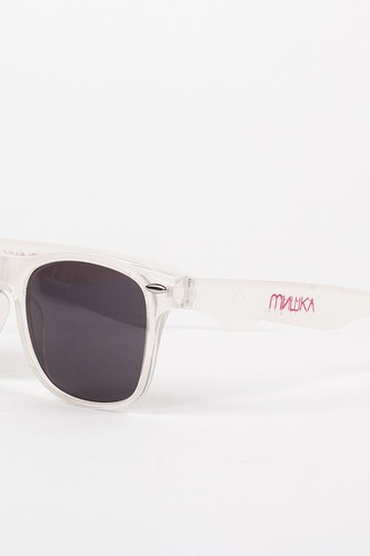 Очки MISHKA Cyrillic Gore Sunglasses SS13 (Frosted-White)