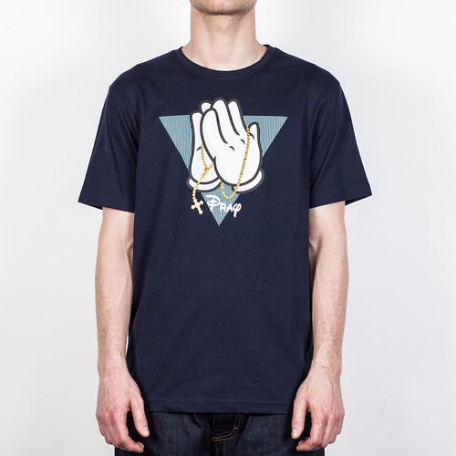 Футболка CAYLER & SONS Pray Tee (Deep-Navy-Aqua-White, S) футболка cayler
