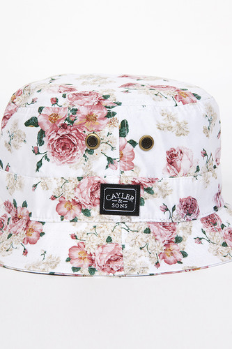 Панама CAYLER & SONS Paris Bucket Hat (Floral-White, L/XL)