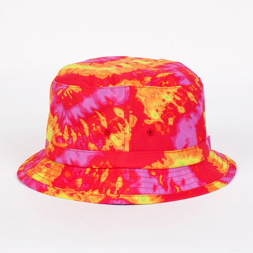 Панама МИШКА Sunset Tie-dye Bucket Hat (Sunset, S/M) панама мишка sunset tie dye bucket hat sunset s m