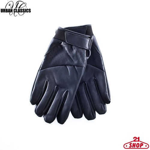 Перчатки URBAN CLASSICS Leather Imitation Gloves (Black, S/M) комбинезон urban classics ladies sweat jumpsuit женский black fucsia m