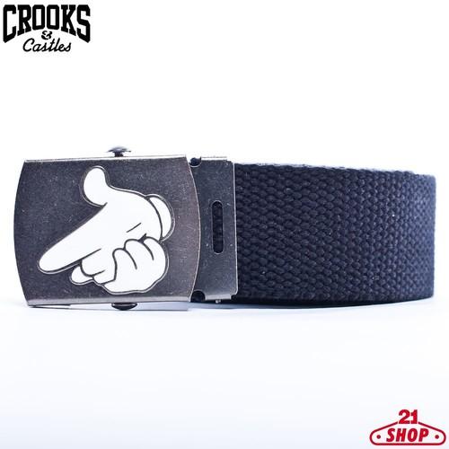 Ремень CROOKS & CASTLES I1161111 (Black, O/S)