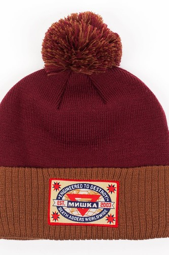 Шапка МИШКА Scout 2 Knit Pom Beanie (Cardinal)
