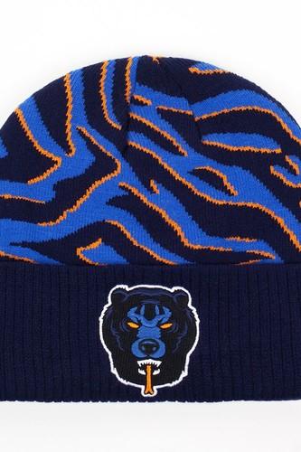Шапка МИШКА Death Adders Rumble Beanie (Navy) комплект одежды для мальчика клякса цвет голубой меланж 39 2013 размер 74