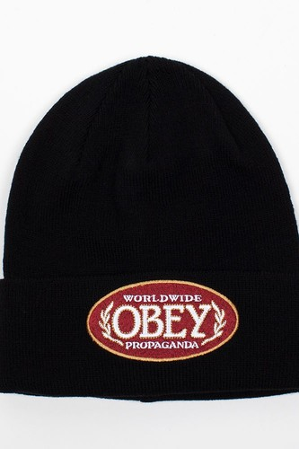 Шапка OBEY Smoke Beanie (Black) шапка obey luxury beanie red