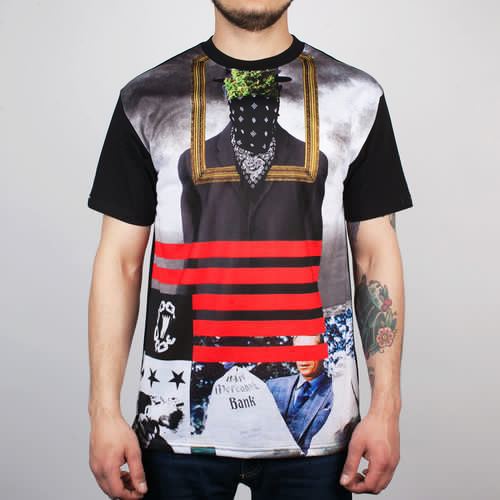 Футболка CROOKS & CASTLES Son Of Crooks (Black, S) футболка crooks