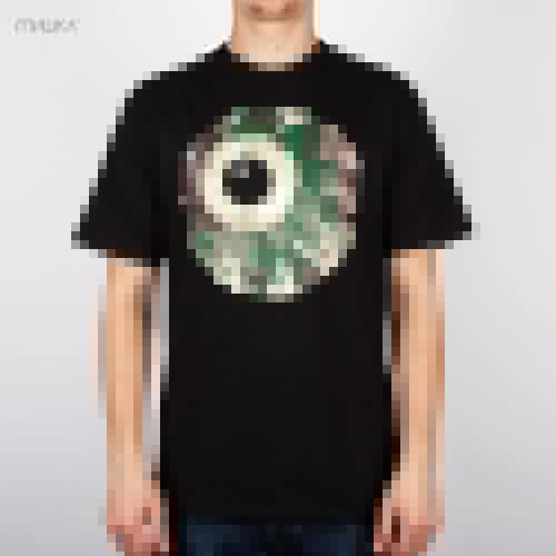 Футболка МИШКА Camo Keep Watch T-Shirt (Black, S) цена и фото