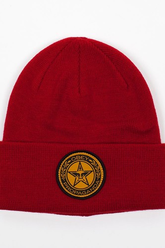 Шапка OBEY Luxury Beanie (Red) шапка obey luxury beanie red