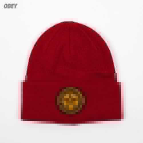 Шапка OBEY Luxury Beanie (Red) шапка obey ruger beanie obn134 heather indigo