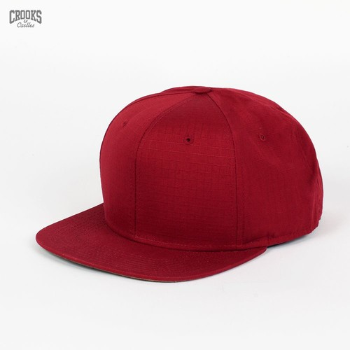 Бейсболка CROOKS & CASTLES I1360801 (Burgundy, O/S) бейсболка crooks