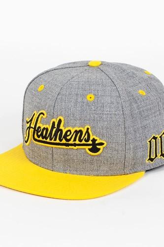 Бейсболка CROOKS & CASTLES Heathens (Speckle-Grey-Sunburst, O/S) недорого