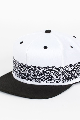 Бейсболка CROOKS & CASTLES I1360812 (White-Black, O/S) недорого