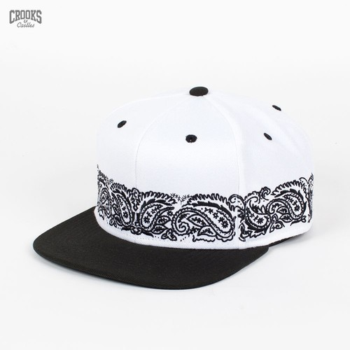 цена на Бейсболка CROOKS & CASTLES I1360812 (White-Black, O/S)