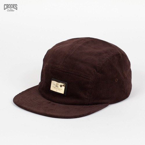 Бейсболка CROOKS & CASTLES I1360823 (Chocolate, O/S) бейсболка crooks