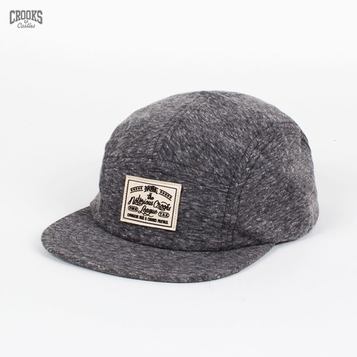 Бейсболка CROOKS & CASTLES I1370819 (Speckle-Black, O/S) бейсболка crooks