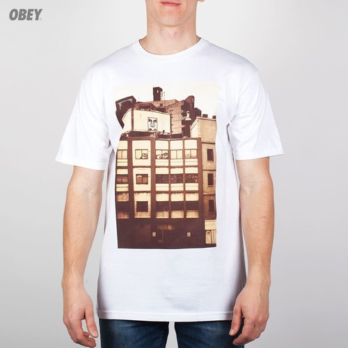 Футболка OBEY All City Icon Photo (White, XL) футболка obey youth crew black xl