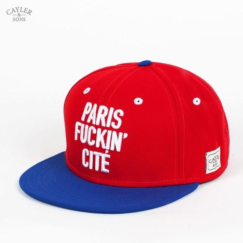 Бейсболка CAYLER & SONS Paris City Cap (Red-Royal-Blue-White, O/S) бейсболка cayler