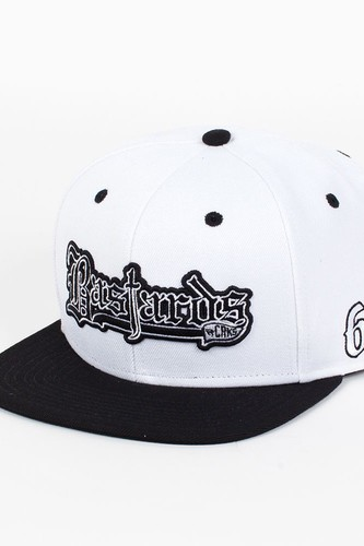 Бейсболка CROOKS & CASTLES I1360829 (White-Black, O/S) недорого