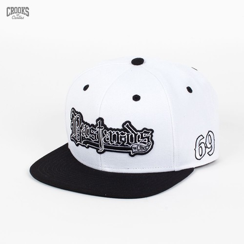 Бейсболка CROOKS & CASTLES I1360829 (White-Black, O/S) бейсболка crooks