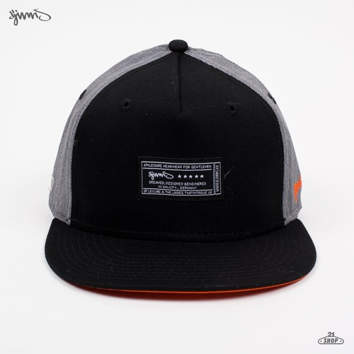 Бейсболка DJINNS 5 Panel Label Denim (Grey, O/S) бейсболка obey washington 5 panel olive o s