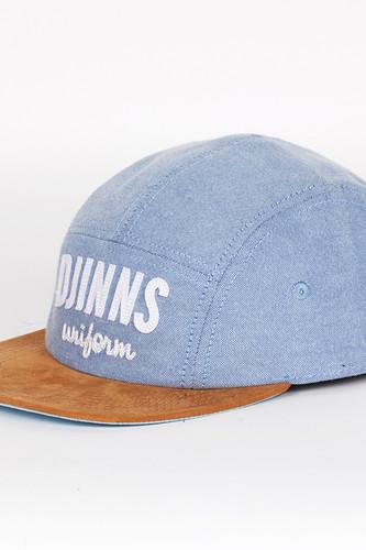 Бейсболка DJINNS Best Oxfordl 5 Panel Flat Cap Fv (Blue, O/S)