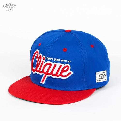 Бейсболка CAYLER & SONS Clique Cap (Blue-Red-White, O/S) бейсболка cayler