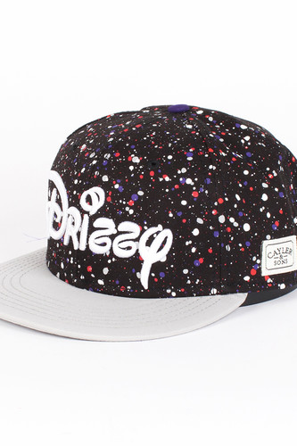 купить Бейсболка CAYLER & SONS Drizzy Cap (Black-Grey-Mc, O/S) по цене 810 рублей