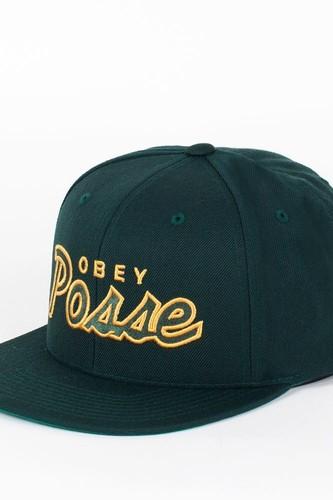 Бейсболка OBEY Posse Snap (Spruce, O/S) chauvet dj obey 40