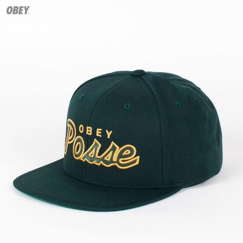 Бейсболка OBEY Posse Snap (Spruce, O/S) бейсболка obey darkness snap red o s