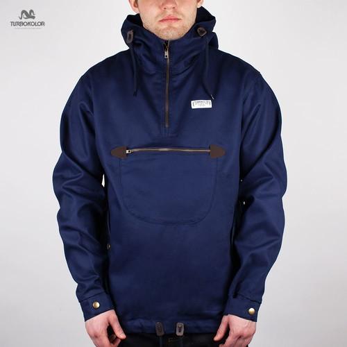 купить Куртка TURBOKOLOR Freitag Jacket FW13 (Dark-Green-Navy, S) по цене 1278 рублей