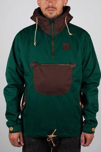 Куртка TURBOKOLOR Freitag Jacket SS13 (Green-Brown, XL) куртка helium куртки короткие