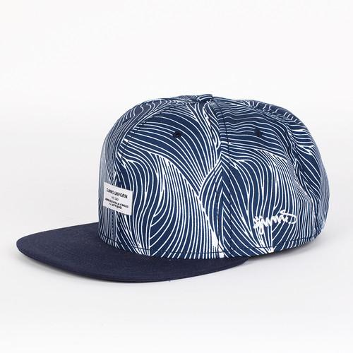 купить Бейсболка DJINNS Organic Waves 6 Panel Snapback (Navy, O/S) по цене 553 рублей