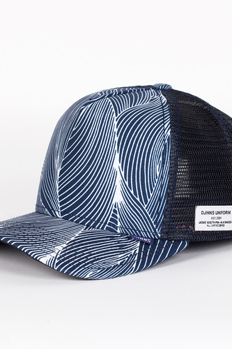 бейсболка djinns organic waves high fitted t cap navy o s Бейсболка DJINNS Organic Waves High Fitted T.cap (Navy, O/S)