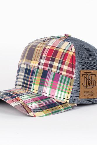 Бейсболка DJINNS Patchwork 2014 High Fitted T.cap (Grey-Multi, O/S)