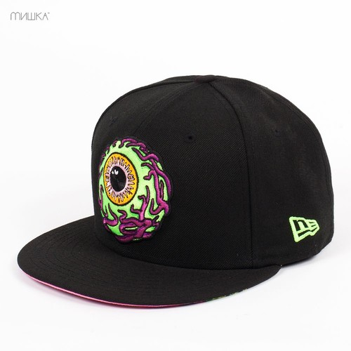 Бейсболка МИШКА Vermilyea Keep Watch New Era (Black, 7 1/2) цена и фото