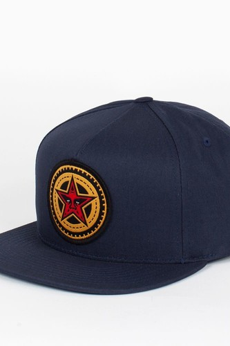 Бейсболка OBEY Gears Snap (Navy, O/S)