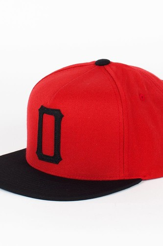 Бейсболка OBEY Legacy Snap (Red-Black, O/S)