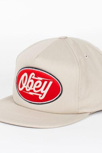 Бейсболка OBEY Gasoline Snap (Khaki, O/S)