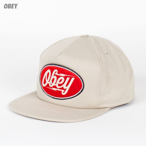 Бейсболка OBEY Gasoline Snap (Khaki, O/S) бейсболка obey darkness snap red o s