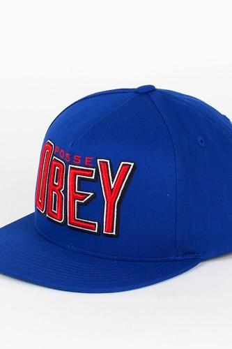 купить Бейсболка OBEY Propaganda Snap (Royal, O/S) дешево