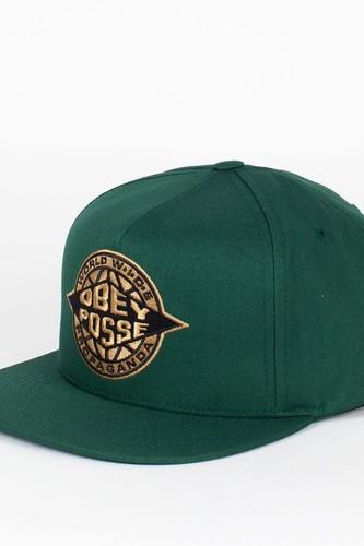 Бейсболка OBEY Ill Snap (Spruce, O/S)