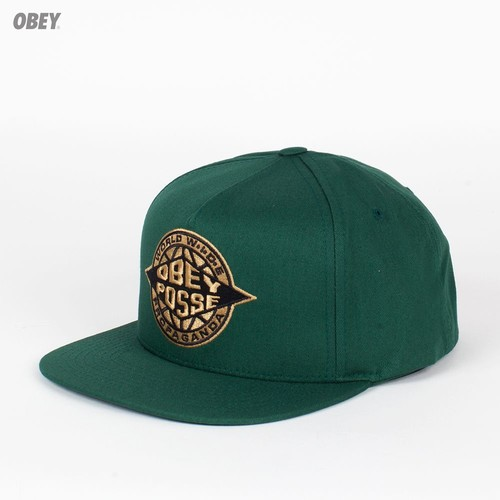 Бейсболка OBEY Ill Snap (Spruce, O/S) бейсболка obey washington 5 panel olive o s