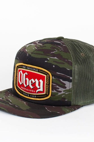 цена на Бейсболка OBEY Lager Trucker (Tiger-Camo, O/S)