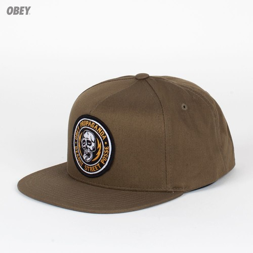 Бейсболка OBEY Deadly Snap (Loden, O/S) бейсболка obey ill snap spruce o s