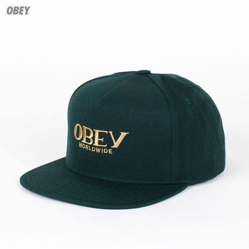 Бейсболка OBEY Milan Hat (Dark-Green, O/S) бейсболка obey washington 5 panel olive o s
