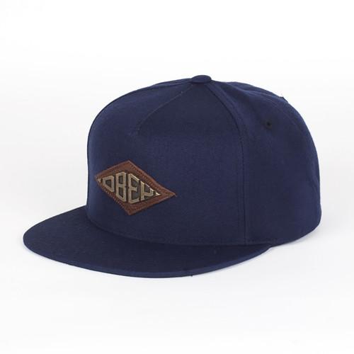 Бейсболка OBEY Hardware Hat (Navy, O/S) бейсболка obey needle hat heather grey o s