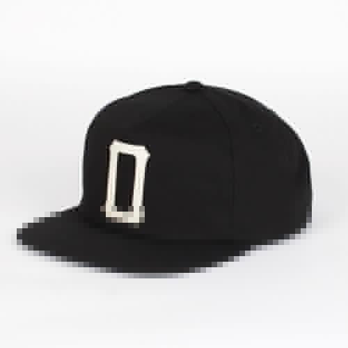 Бейсболка OBEY Akron Snapback (Black, O/S) бейсболка obey willard snapback splatter camo o s