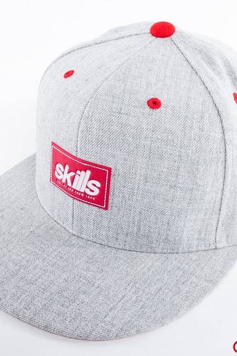 Бейсболка SKILLS Patch Hat (Heather Grey, O/S)