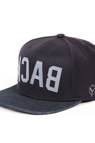 Бейсболка BACKYARD CARTEL Back FW14 (Black/Denim, O/S) бейсболка backyard cartel icon 5 panel camo o s