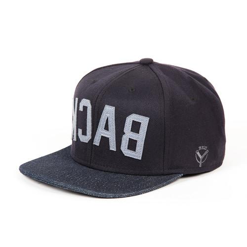 Бейсболка BACKYARD CARTEL Back FW14 (Black/Denim, O/S) куртка backyard cartel dusk black s